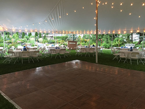 Wedding tent dance floor & Marblehead Tent::Event u0026 Party Rentals Gallery Page: Serving ...