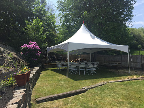 Backyard Tent Rental